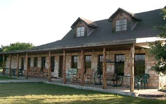 Texas Ranch House I M In Love With That Porch Ranch House Plans Hill Country Homes