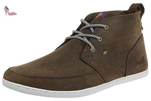 Boxfresh SYMMONS HAR LEA Sneaker Men boots brown E13839, pointure:eur 45 -  Chaussures