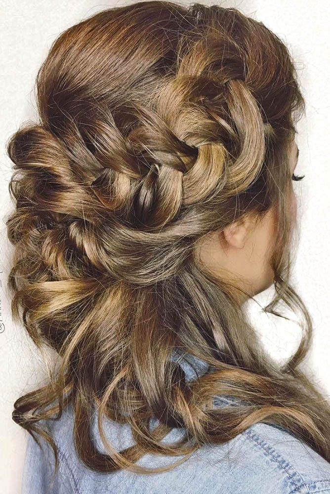 Wedding Guest Hairstyles: 42 The Most Beautiful Ideas   Wedding guest hairstyles, Easy updo ...