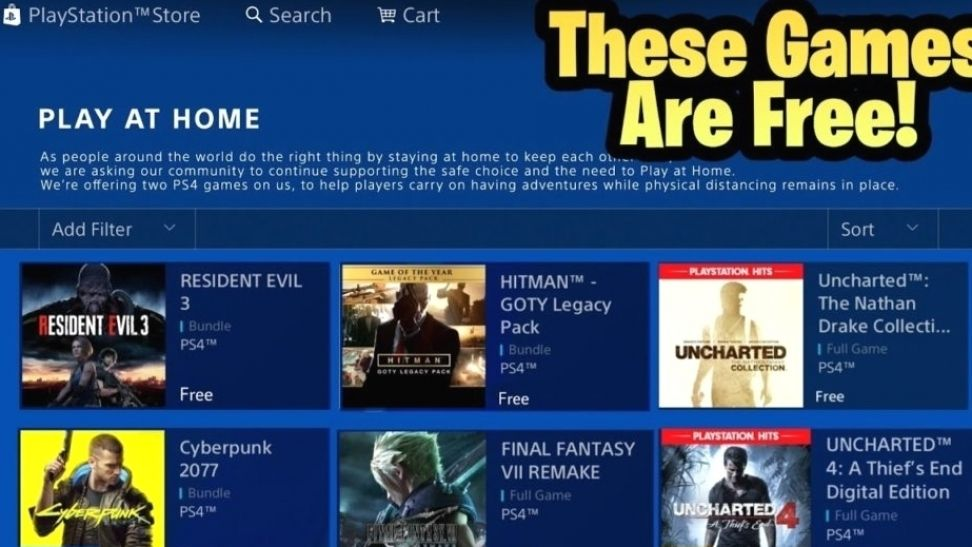 How To Download Ps4 Games Free These 8 Aaa Games Are Free For Everyone Playtoprofit Com In 2021 Playstation Ps4 Games Sony Playstation