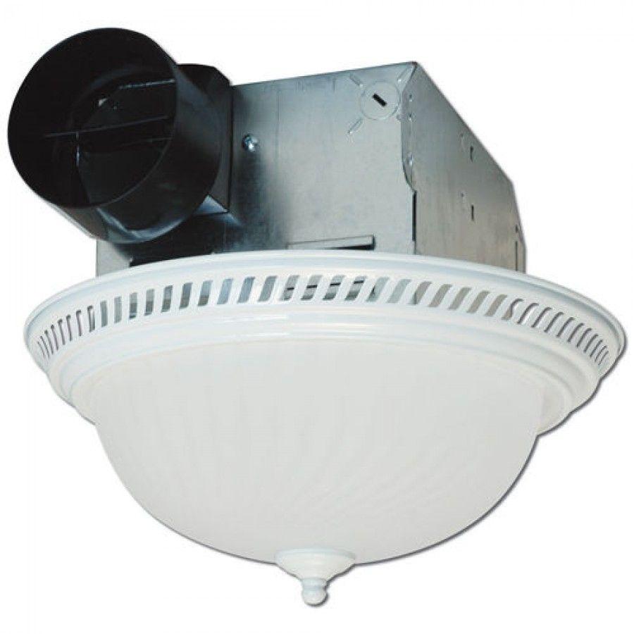 Air King Round Bath Fan With Light Drlc70 With Images Fan Light Bath Fan Bathroom Fan