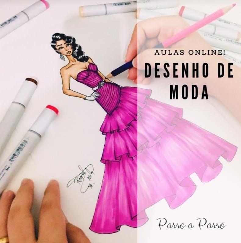 Croqui Completo Raquel Melo Desenho De Moda Croquis De Moda Moda