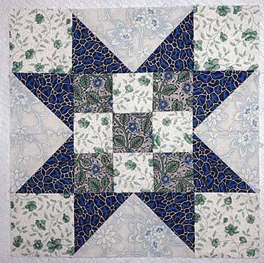 How to Sew Carpenter's Star Quilt Blocks
