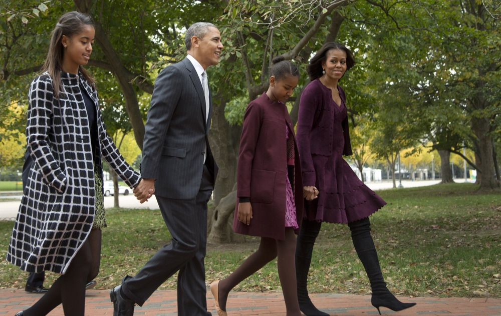 Obamas to look to Sasha to choose where they live after White House