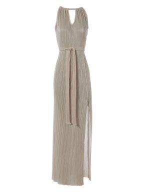 Jane Norman Pleated Maxi Dress Silver House Of Fraser Maxi Dress Polyvore Maxi Dress Evening Maxi Dress