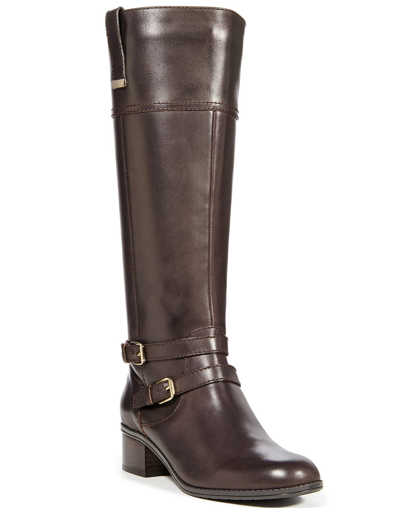 c32a4febee4 Bandolino Carlotta Tall Riding Boots - A Macy's Exclusive - Boots ...