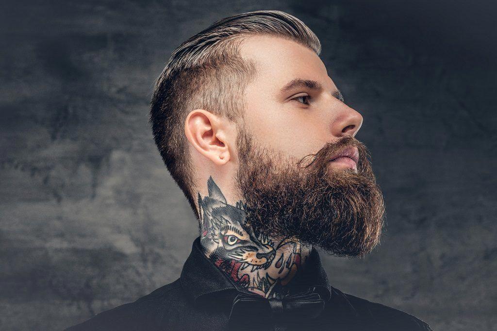 Straight Razor Kit Brown Men's Gift Box Beard neckline