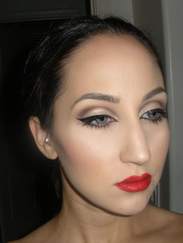 LC Makeup Artist Subtle Cut Crease And Red Lip FOTD ...