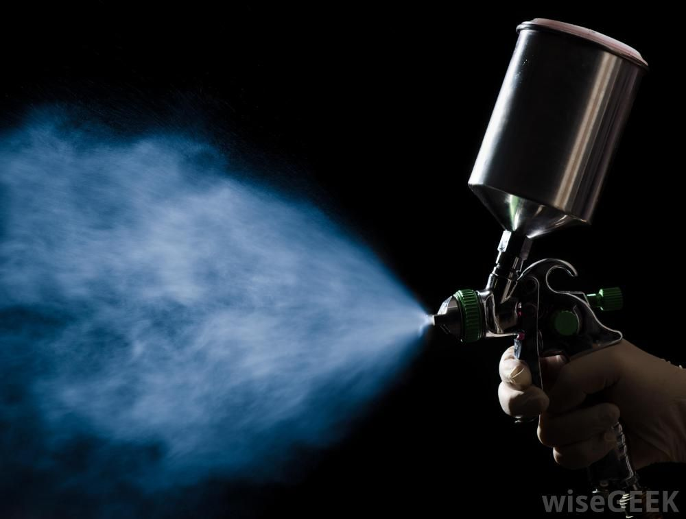 Hvlp Spray Gun Shooting Broad Spray Jpg 1000 215 757 Spray