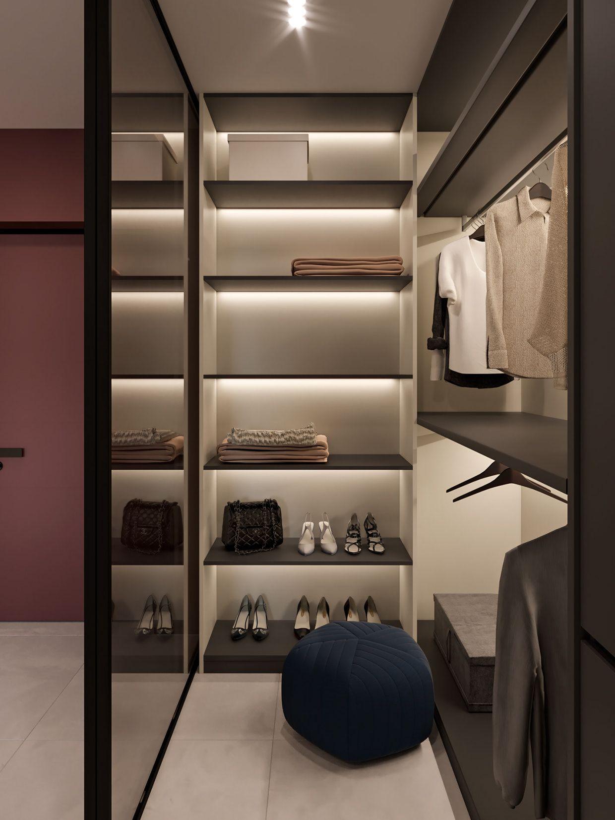 Pin by AP Alina Padurean on Closet Apartment interior