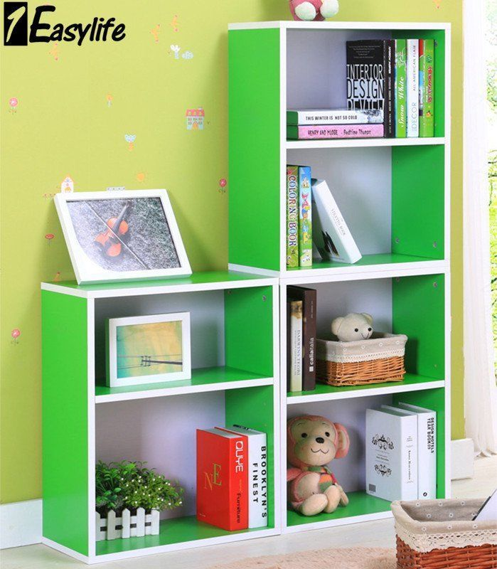 1Eazylife 6 Tiers DIY Children Kids Bookcase BookShelf Toy Storage Unit Shelves  sc 1 st  Pinterest & 1Eazylife 6 Tiers DIY Children Kids Bookcase BookShelf Toy Storage ...