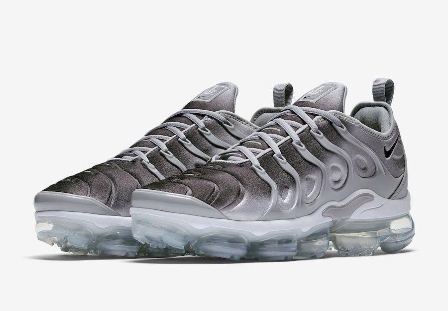 f5abeb871d3b0 Nike Air Vapormax Plus Size 10.5 US Grey White Men s Running Shoes  Nike   RunningShoes