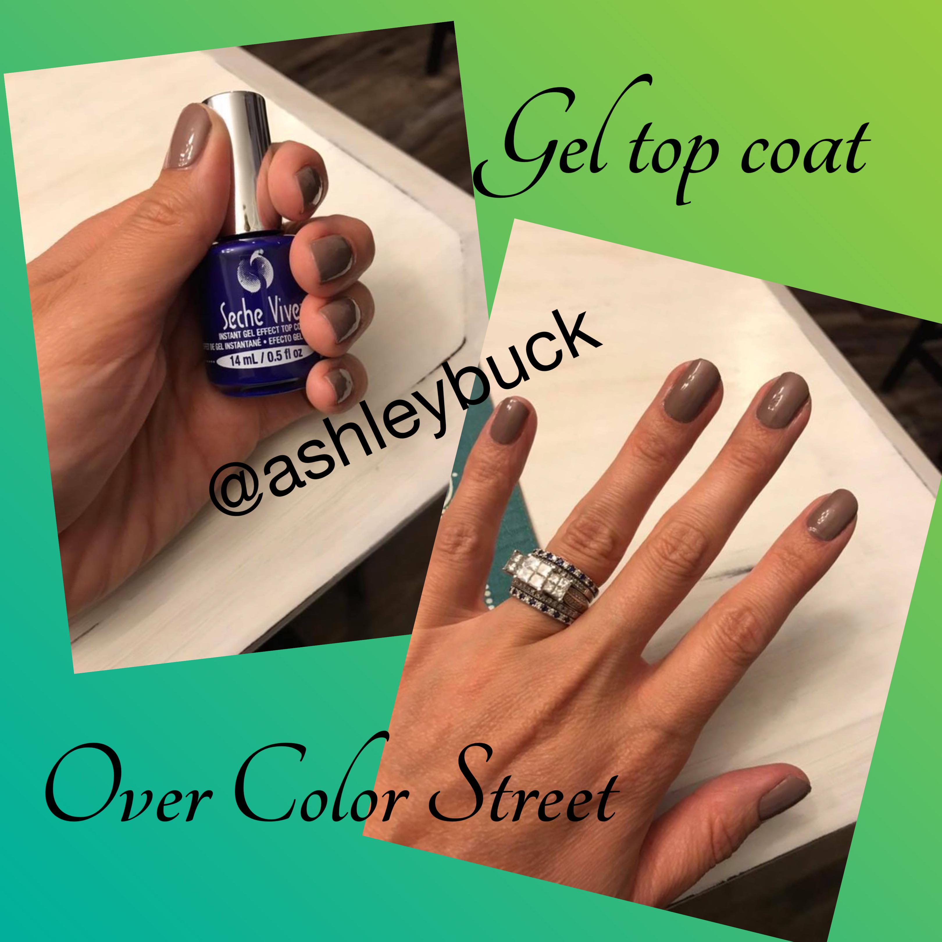 Gel Top Coat Over Your Color Street Strips Www Colorstreet Com Ashleybuck Color Street Color Street Nails Gel Top Coat