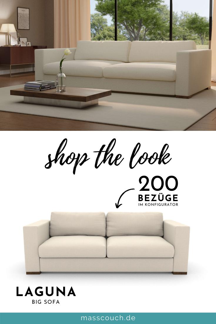 Bigsofa Laguna Bei Dem Sofa Sind Beliebige Masse Moglich In 2020 Grosse Sofas Sofa Sofa Konfigurator