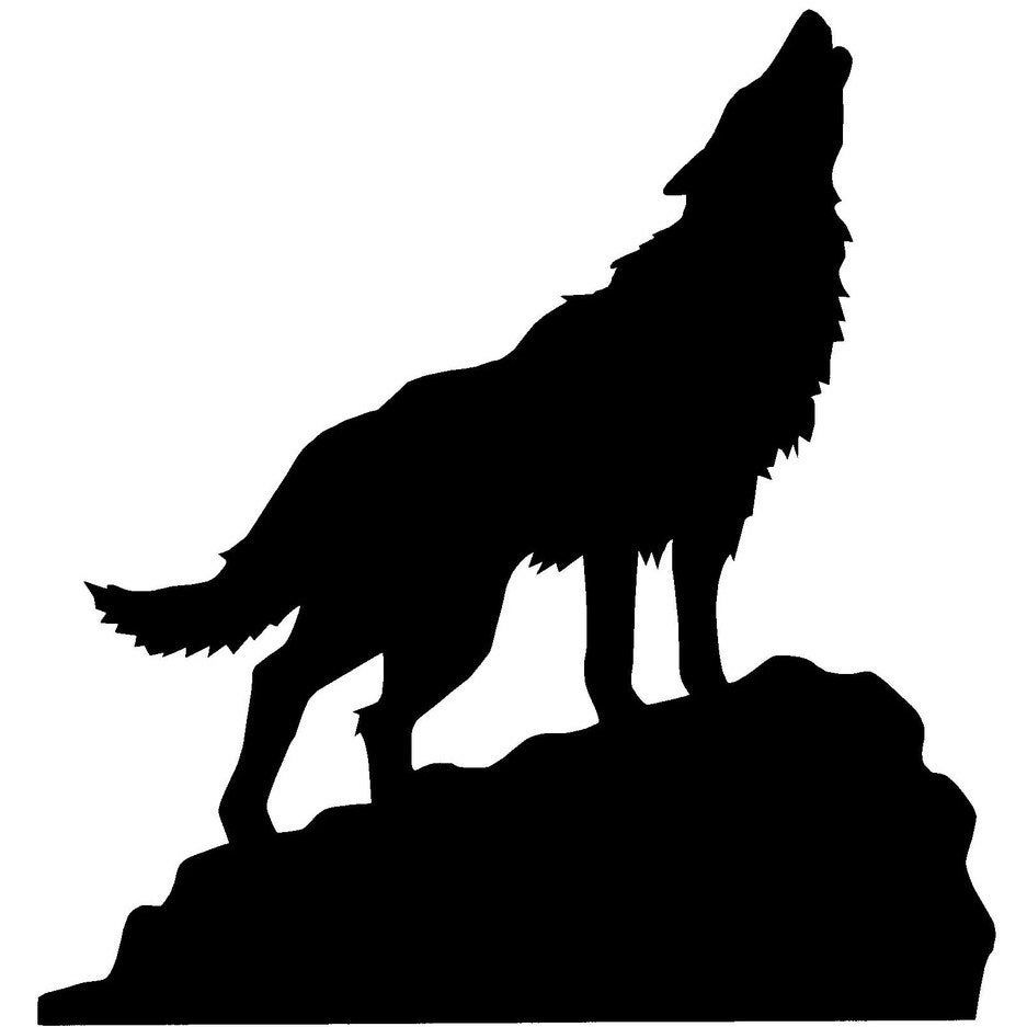 Find The Perfect Handmade Gift Vintage On Trend Clothes Unique Jewelry And More Lots More Wolf Silhouette Animal Silhouette Wolf Stencil