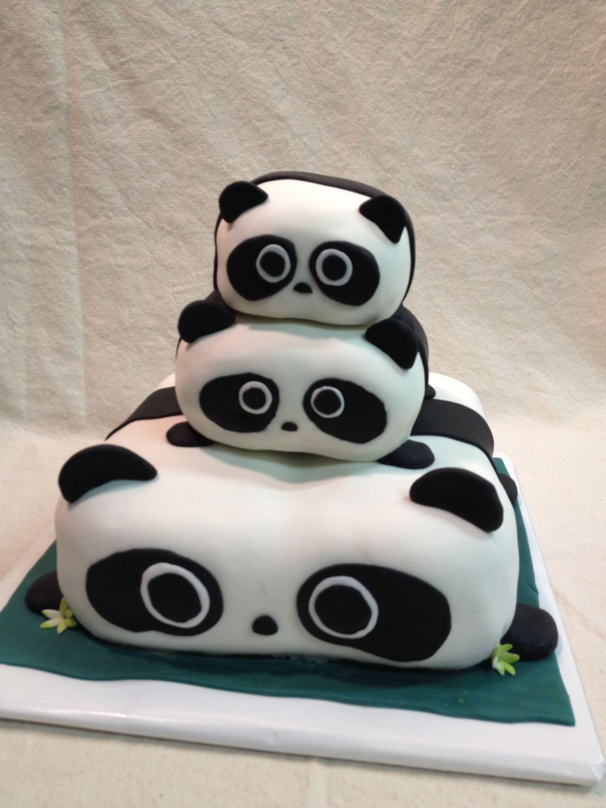 Panda Cake Nicole Wilson