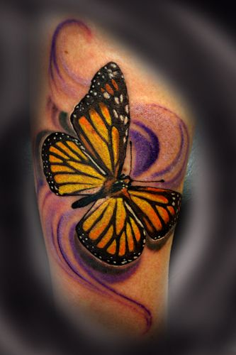 3d Butterfly Tattoos Pin Realistic Butterfly Tattoos On Pinterest Yellow Butterfly Tattoo Butterfly Tattoos For Women Black Butterfly Tattoo