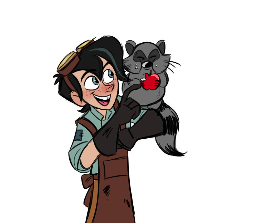 """""""Varian! And Ruddiger!"""" By @kritterart On Tumblr"""