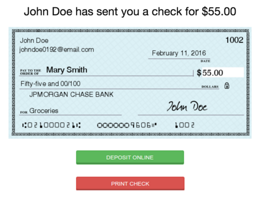 how to make a check