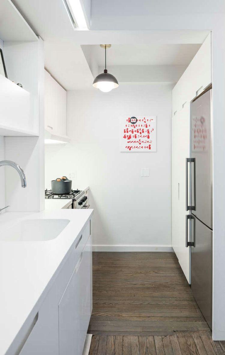 Mobile Wohnwand In Einer Kleinen Wohnung In New York Möbel
