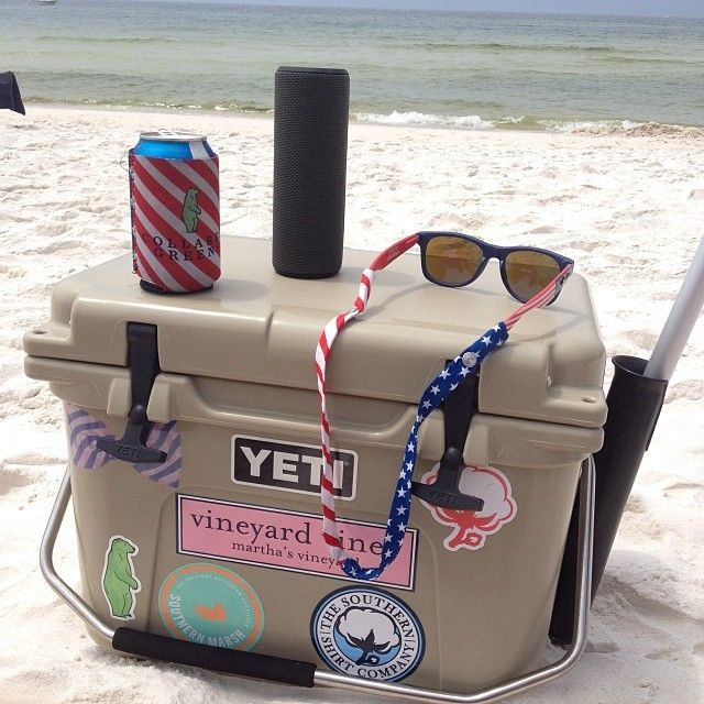 My Yeti Review Some Say It S All Yeti Hype But I Love My Yeti Cooler Totally Worth The Money Yeti Coolers Yeti Cooler Preppy Southern