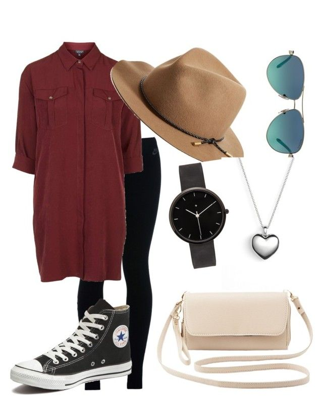 """""""Untitled #119"""" by autumndohm on Polyvore featuring NIKE, Topshop, Converse, rag & bone, Tiffany & Co., Charlotte Russe, Pandora, I Love Ugly, women's clothing and women"""
