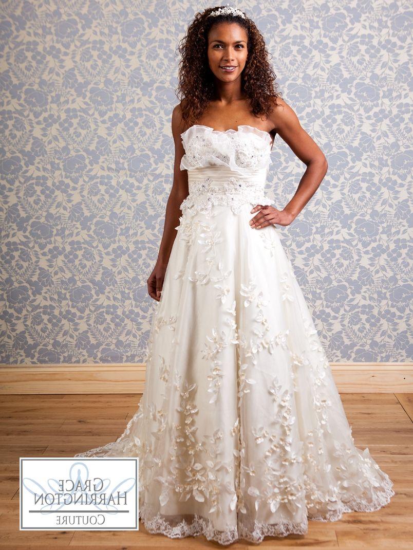 Wedding Dresses With Flowers On Bottom Wedding Dress Pinterest