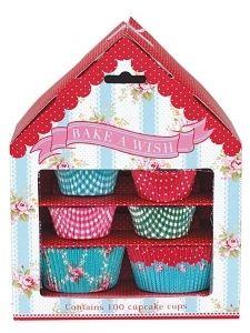 Bake a wish- muffinssivuokatalo / Keittiöön - Juhlinta, ruuanlaitto / Colore