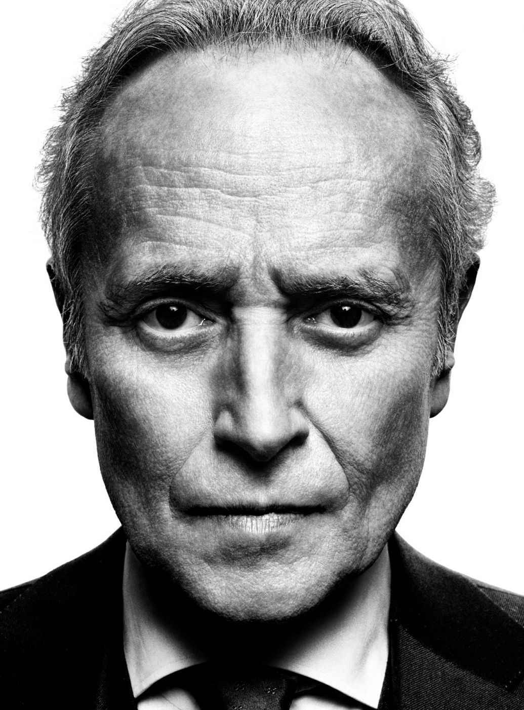 Men celebrities · black and white man · photography portraits · platon