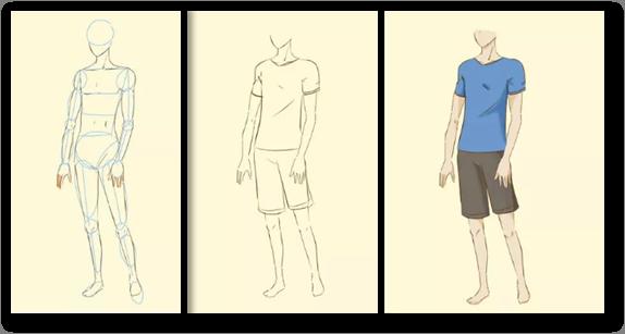 Aprender A Dibujar Cuerpo Anime Y Manga 3
