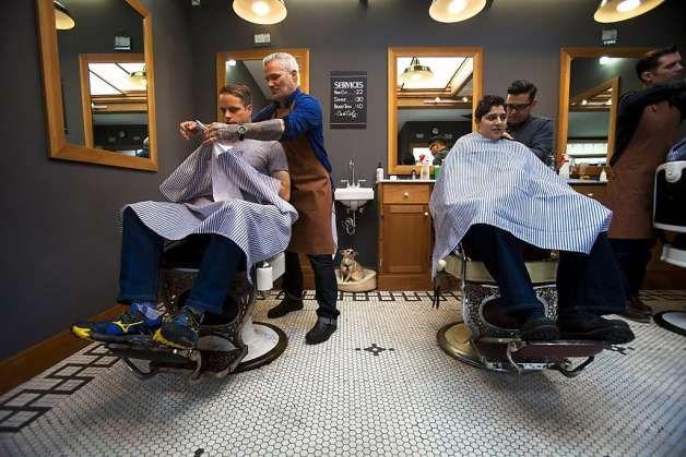 Man Cave Barber Dublin : Modern barber shop interior home designs pinterest