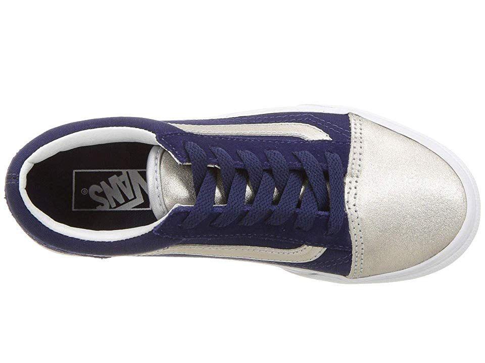 4a38b806 Vans Kids Old Skool Platform (Little Kid/Big Kid) Girls Shoes ...