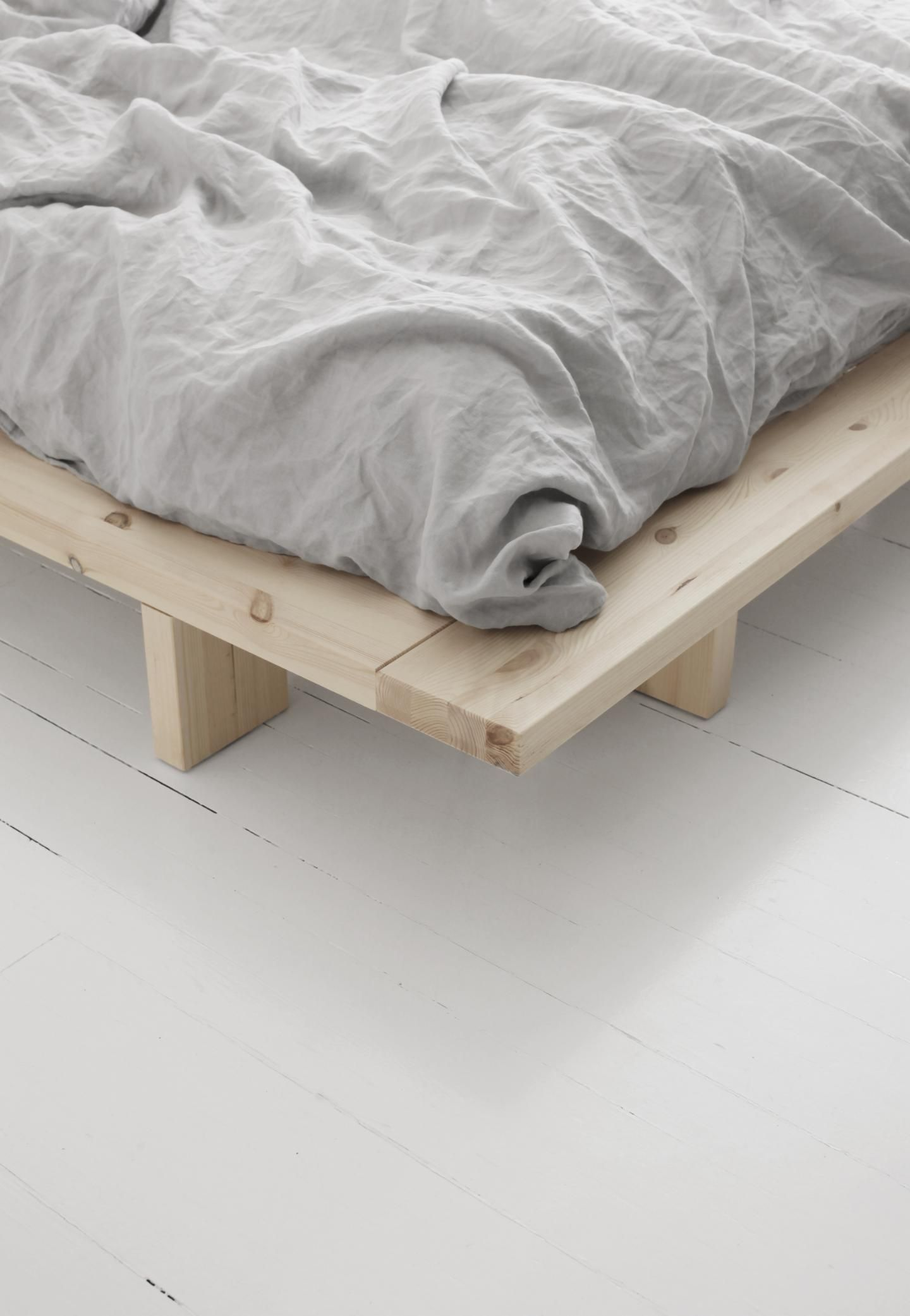 JAPAN BED FRAME 140 X 200 RAW in 2020 Bed frame