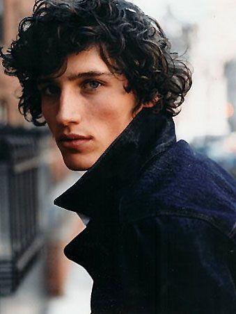 Black Hair White Curly Hair Character Inspiration Male Character Inspiration Long Hair Styles Men