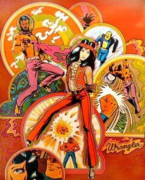 Wrangler Advertisement - Lead Pipe Posters - Vintage Rock ...
