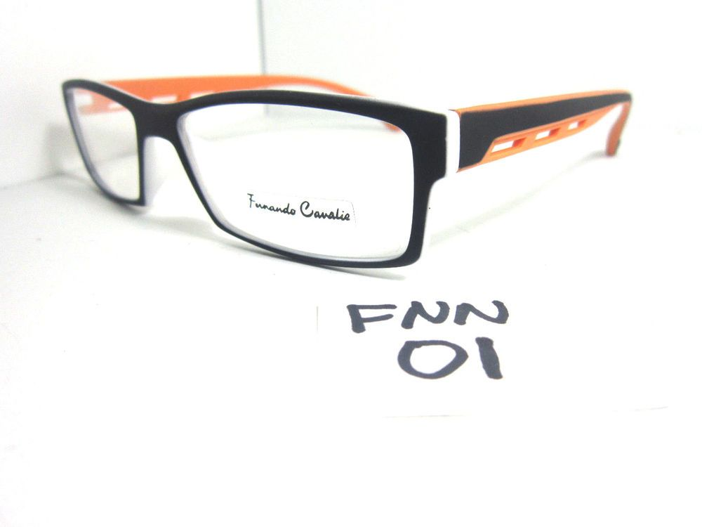 bc1ac4a8036e New Sporty Rectangular Eyeglass Frame in Orange