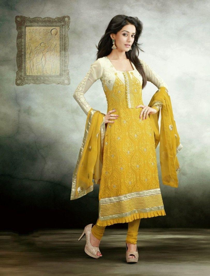 Amrita Rao In Salwar Kameez