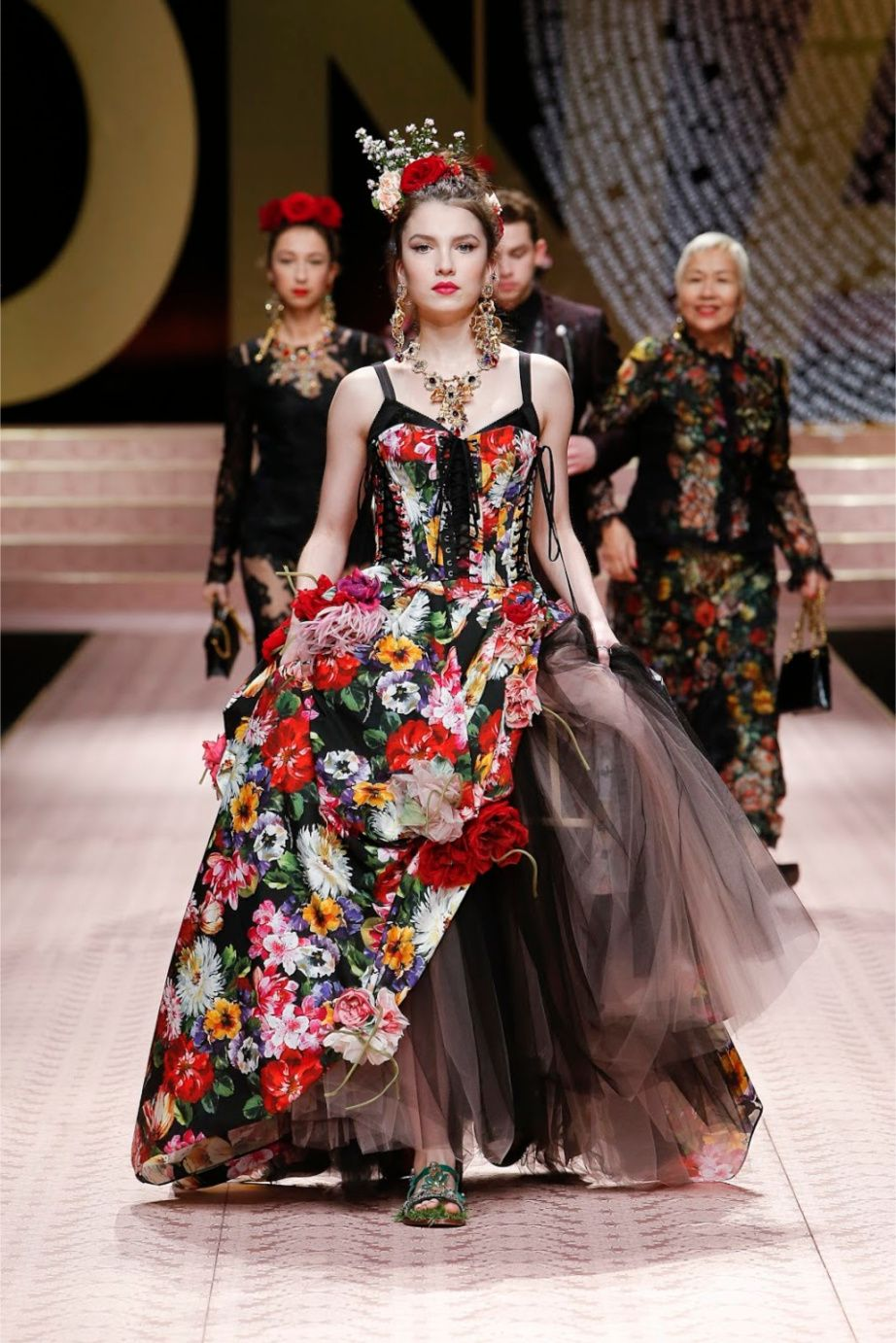 33c72bbb21e Dolce   Gabbana Spring 2019 RTW runway fashion show titled DNA celebrates  diversity and inclusiveness