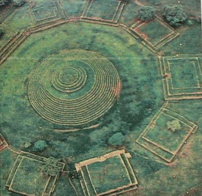 Los Guachimontones, pirámides en forma circular, cerca de Etzatlán, Jalisco.
