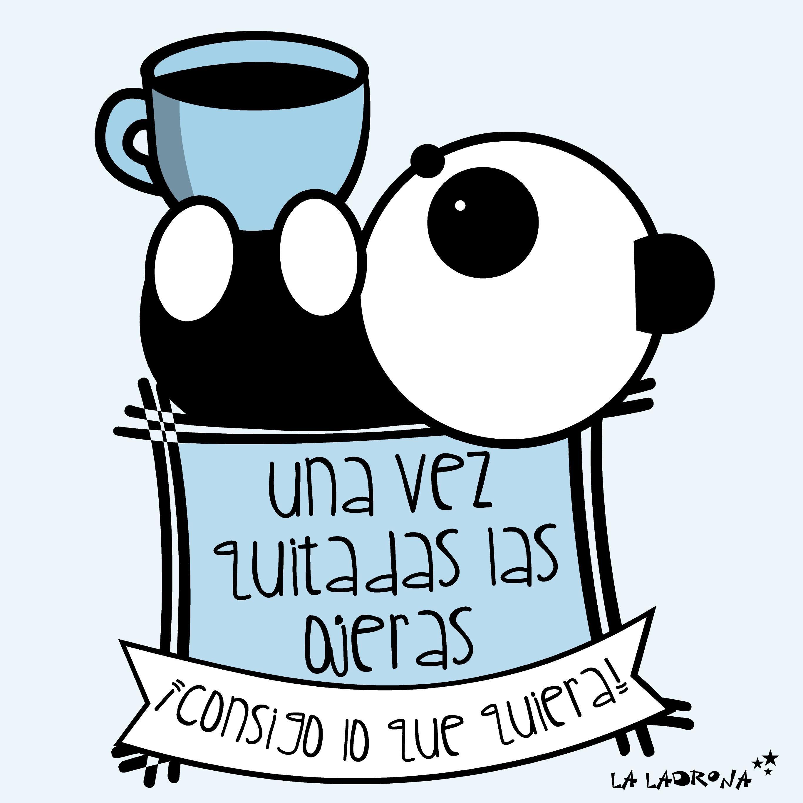 Ilustración. Illustration. ¡Fuera ojeras y al turrón! www.laladronadeestrellas.com