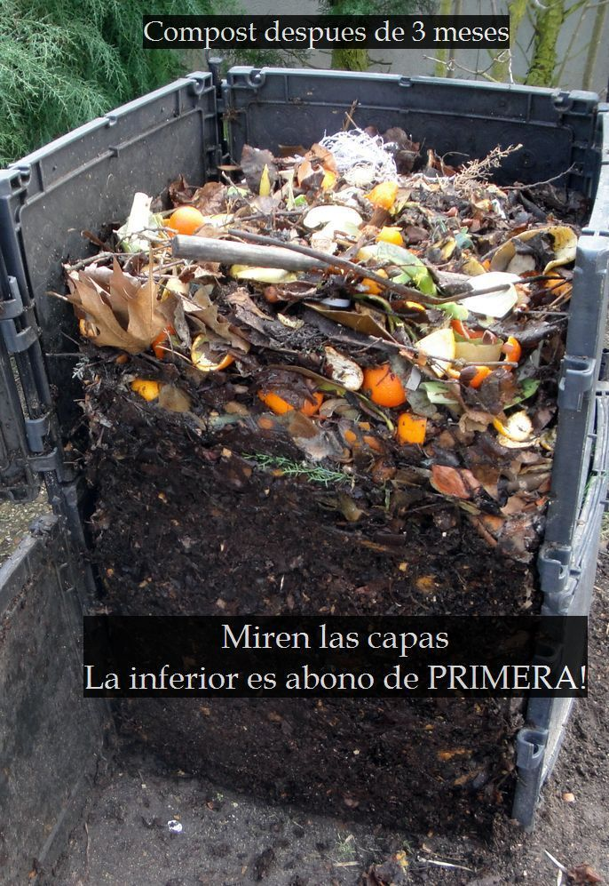 Compostera Casera Facil Y Gratis Para El Abono De Tu Huerta Taringa Compostaje Casero Compostera Casera Compostaje