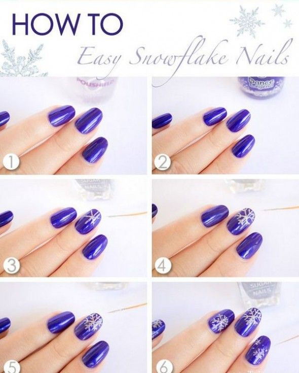 Easy Diy Nail Art Design Tutorial With Pictures Nail Art Designs Diy Diy Nail Art Tutorial Nail Designs