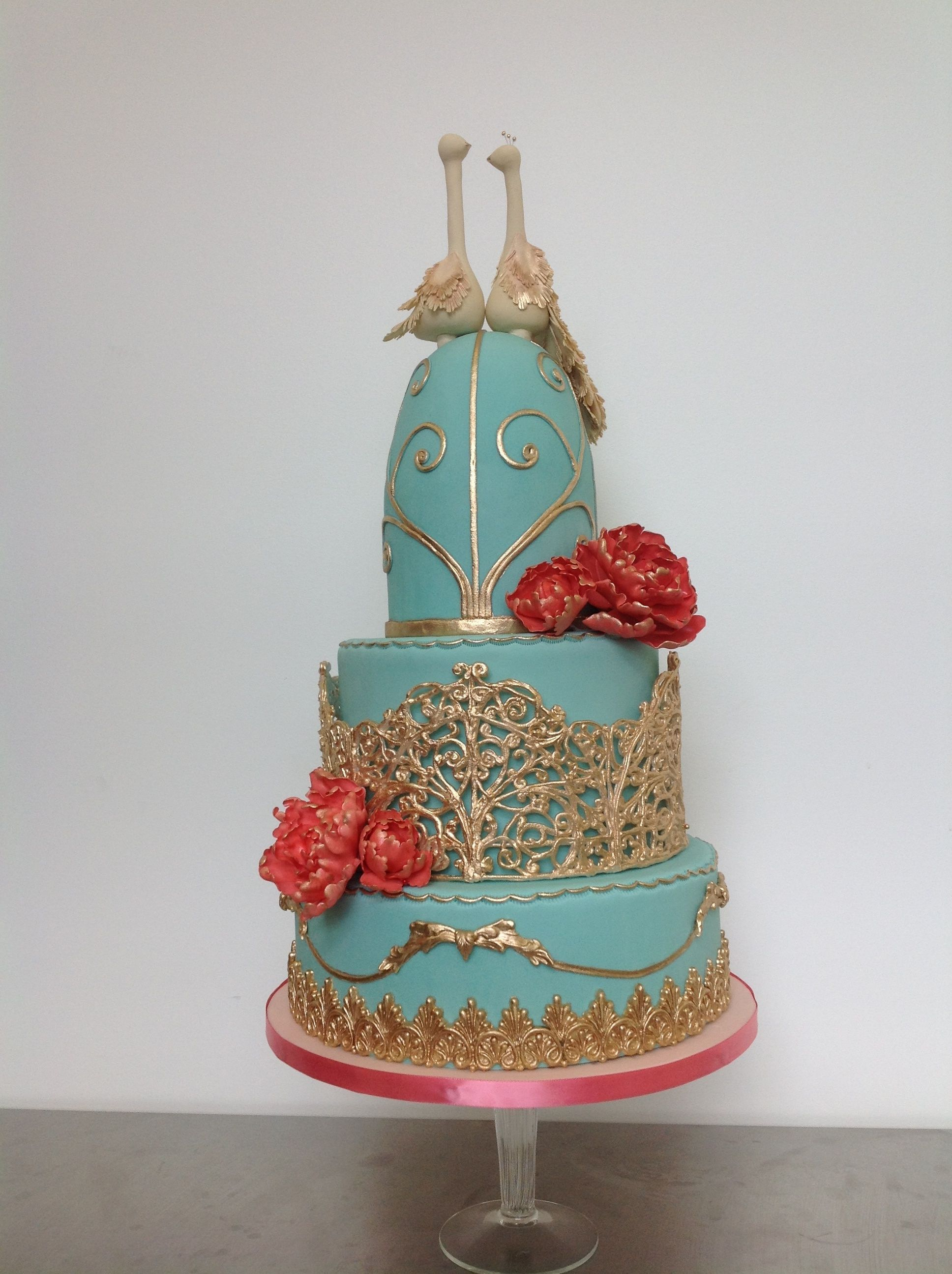 This Cake Was For A Bird Lover And Antique Cage Collector ...