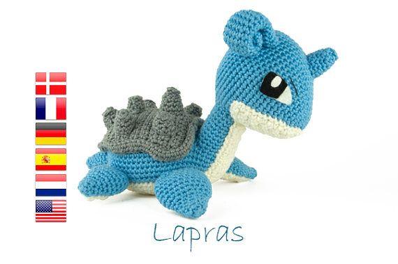 Crochet pattern Lapras (Pokemon) | Amigurumi | Pinterest | Häkeln ...