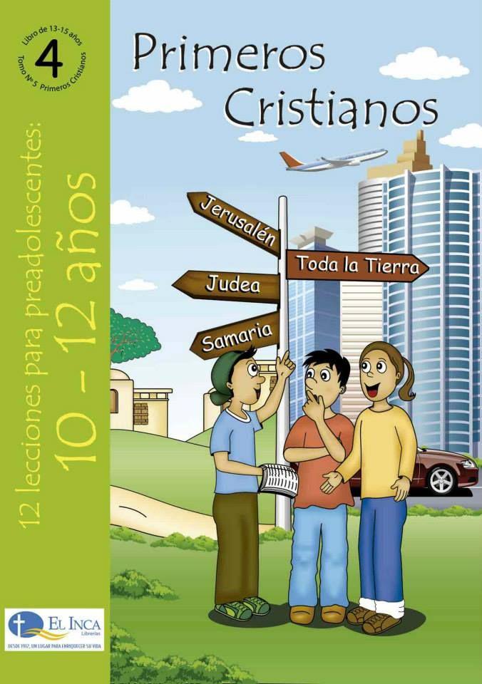 Manuales Para La Escuela Dominical Para 10 12 Años De Editorial Buena Tierra Parte De Las Librerías El Inca Perú 4 Cuenta Sobr Education Ecard Meme Bible