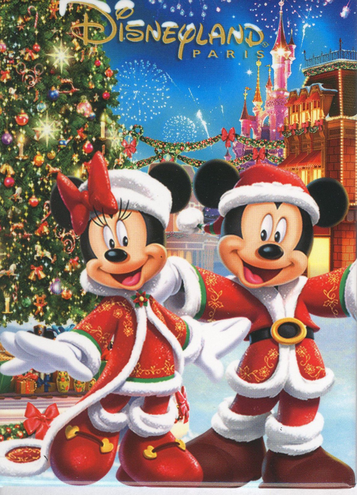 Christmas Minnie Mouse Disneyland.Christmas Disney Mickey Minnie Mouse Disneyland Paris