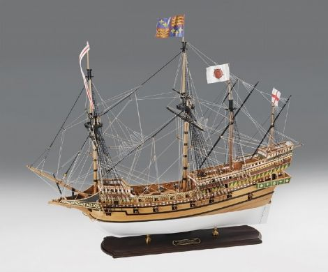 Revenge Elizabethan Galleon 1577 Victory Models Ship Model