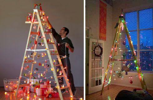 Alberi Di Natale In Legno Addobbati : Alberi di natale fai da te in legno idee per addobbare e