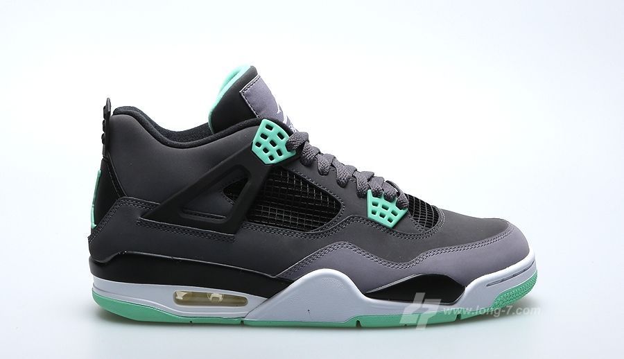 http://www.theblackkicks.com/ buy green glow 4s online now