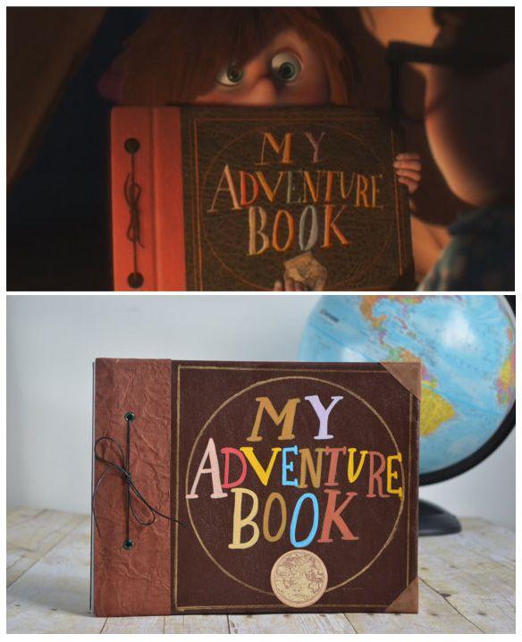 Scrapbook, My Adventure Book And
